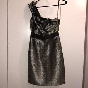 Max and Cleo Silver Cocktail dress